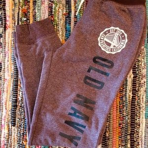 Old Navy Sweatpants Size Youth 10/12